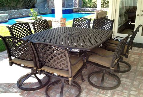 Outdoor Aluminum Patio Furniture by Outdoor Cast Aluminum Patio Furniture Peenmedia