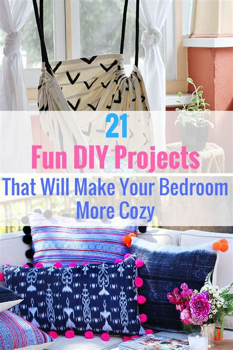 easy diy bedroom decor best 25 diy projects for bedroom ideas on pinterest