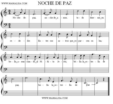 tutorial piano noche de paz noche de paz spanish children s songs spain mama