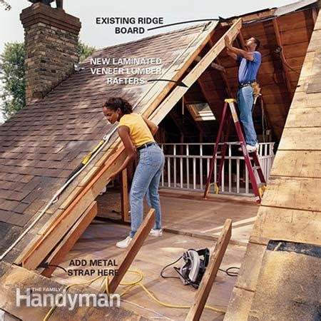 Cost To Add Dormer To Roof How To Frame A Gabled Dormer The Family Handyman
