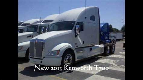 kenworth t700 for sale 2013 kenworth t700 for sale youtube