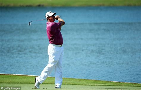 lee westwood swing lee westwood fires into contention at players chionship