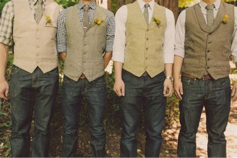 Wedding Attire Announcement by Not So Traditional Groomsmen Attire Announcements