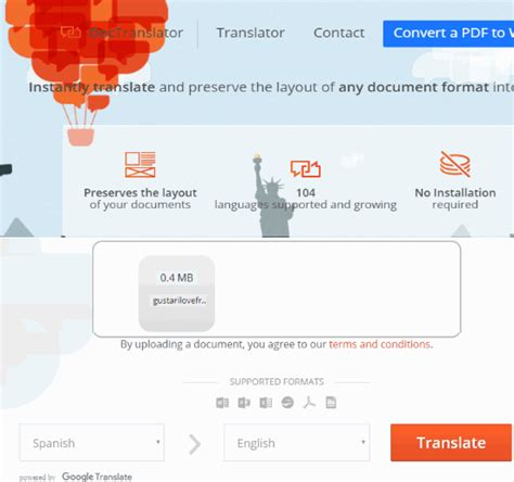 Free Document Translation Software