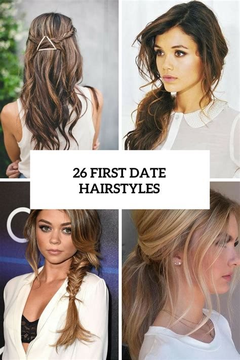 Hairstyles For Dates by Picture Of 26 Date Hairstyles Cover