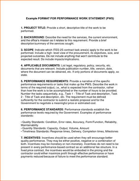 how to write a statement of work template writing a statement of work template thedrudgereort491