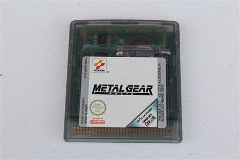 metal gear solid gameboy color boy color metal gear solid catawiki
