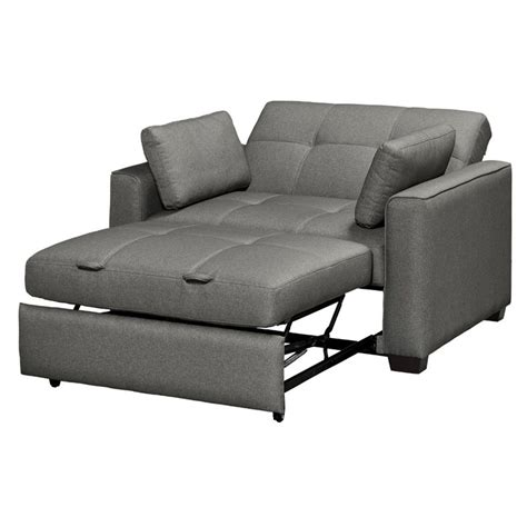 twin convertible sofa serta gunny twin size dream convertible sofa in gray se