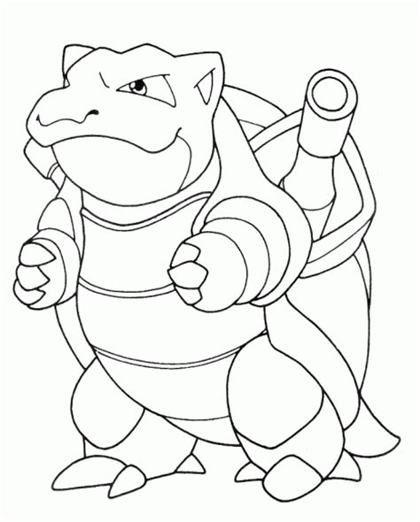 pokemon coloring page blastoise tortank coloriage du pokemon tortank 224 imprimer et colorier