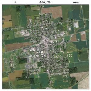 Ada Ohio Map by Aerial Photography Map Of Ada Oh Ohio