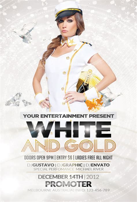 free all white flyer template free flyer templates more than 30 designs designrfix