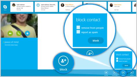 How Do You Find On Skype How Do I Block Or Report A Contact In Skype Skype For Modern Windows