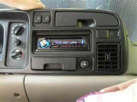 1996 dodge ram 1500 update radio