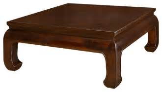 Elmwood Ming Style Square Coffee Table   Asian   Coffee Tables   by China Furniture and Arts