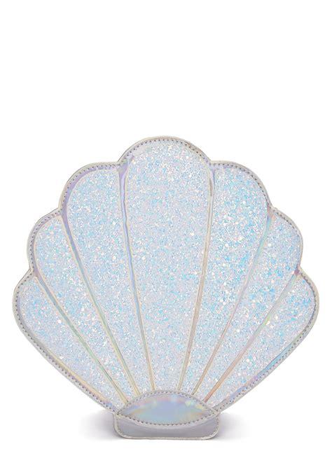 Mermaid Shell sugar thrillz mermaid shell makeup bag dolls kill