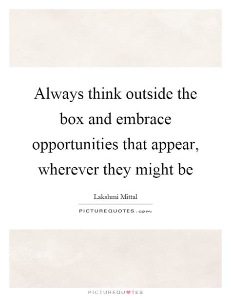 Always Think Outside The Box 2 outside the box quotes sayings outside the box picture