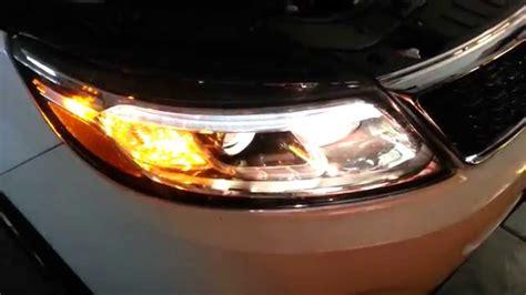 kia sorento headlight bulb 2014 kia sorento testing headlights after changing bulbs