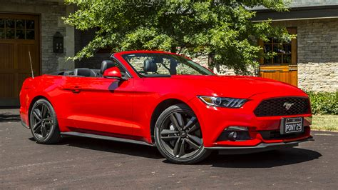ford convertible 2016 ford mustang ecoboost convertible review caradvice