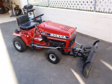 snow for sale honda ht3813 tractor with snow plow for sale