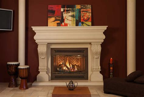 Charming Redecoration Fireplace Design With Trim Molding