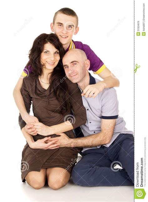 imagenes hijos felices familia madre padre e hijo felices imagen de archivo