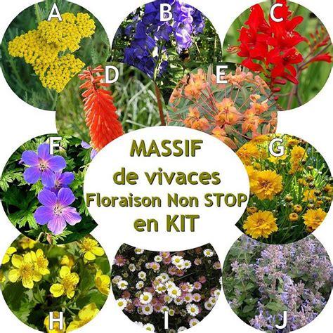 Creer Un Jardin Fleuri Toute L ée by Vente Massif De Vivaces Fleuries Toute L 233 E