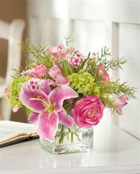 flower centerpieces shop stunning rubrum viburnum silk flower arrangement at