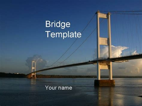 powerpoint themes free download engineering bridge powerpoint template