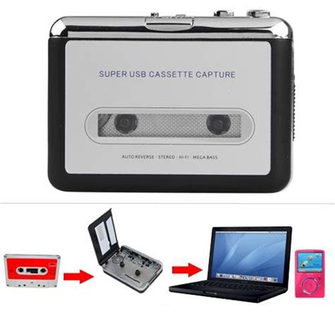 da cassetta a cd usb audio cassette converter to mp3 cd player pc ebay