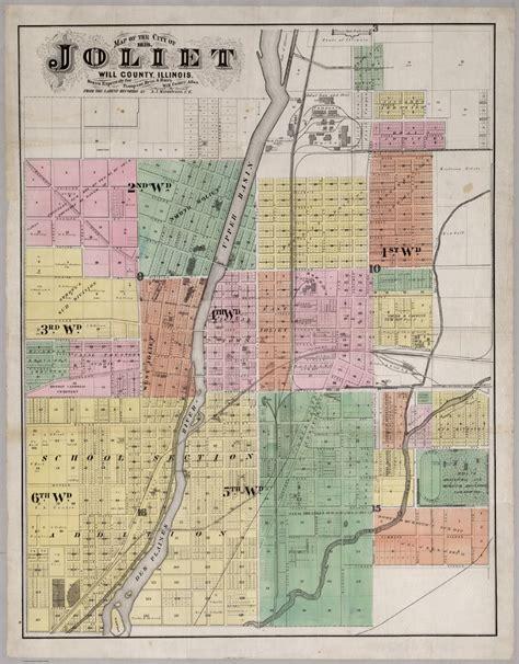 map of joliet il map of joliet illinois my
