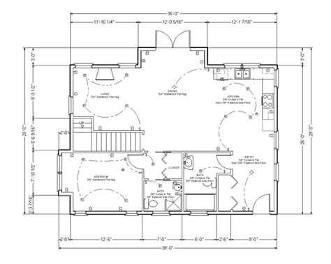 typical house floor plan dimensions how to read blueprints