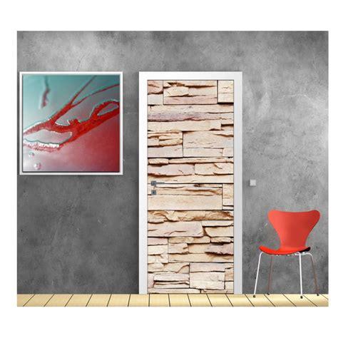 Decoration Pour Porte by Sticker D 233 Coration De Porte Trompe L Oeil Mur De
