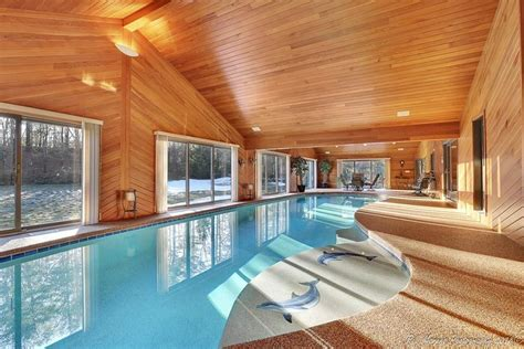 homes with indoor pools five homes for sale with indoor pools boston magazine