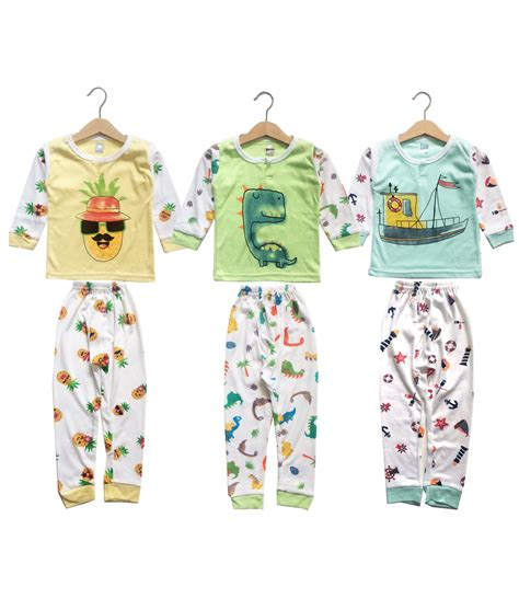 Kazel Piyama Xl kazel boy pajamas 3in1 ship pattern kicau kecil