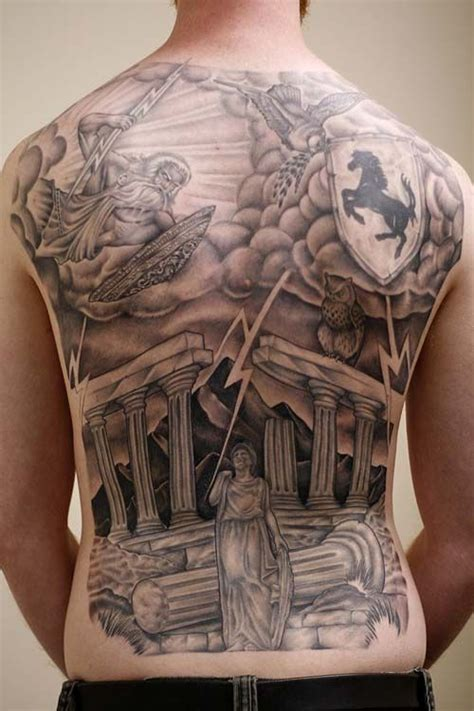 zeus tattoo back pinterest the world s catalog of ideas