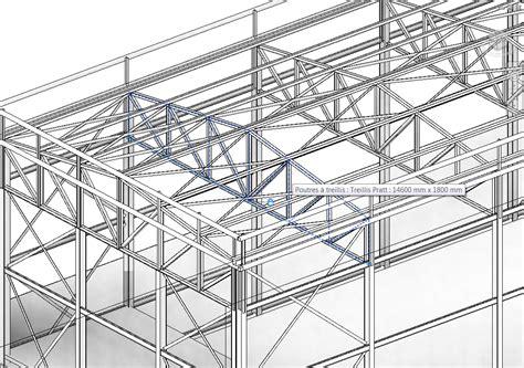 Poutre Treillis by Revit M 233 Mo Revit 2014 Structure Charpente M 233 Tallique