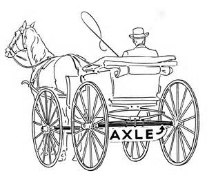 color exles how to draw carriage