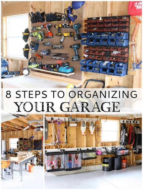 tips for garage organization garage organizing tips finding home farms bloglovin
