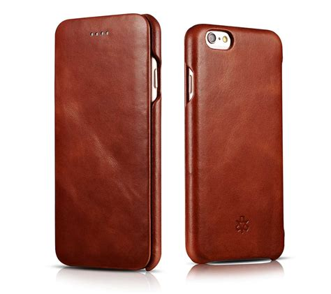 novada genuine vintage leather flip cover for iphone 6 6s 6 6s plus ebay