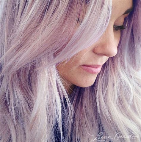 purple and blonde hairstyles the hills lauren conrad dyes her blonde hair pastel