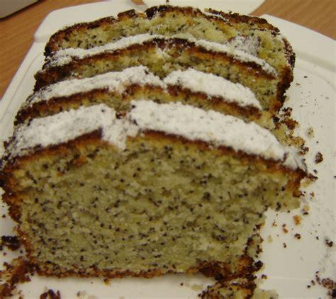 mohn vanille kuchen zitronen mohn kuchen rezepte suchen