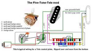 tele five way switch wiring telecaster guitar forum
