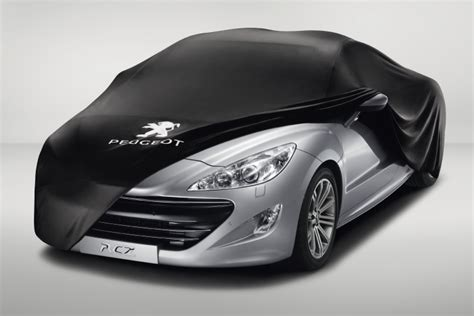 pug car accessories peugeot rcz car cover fits all rcz models 1 6 turbo thp 2 0 hdi genuine parts