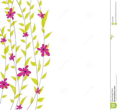 imagenes vectores de flores fondo con las flores ilustraci 243 n del vector imagen de