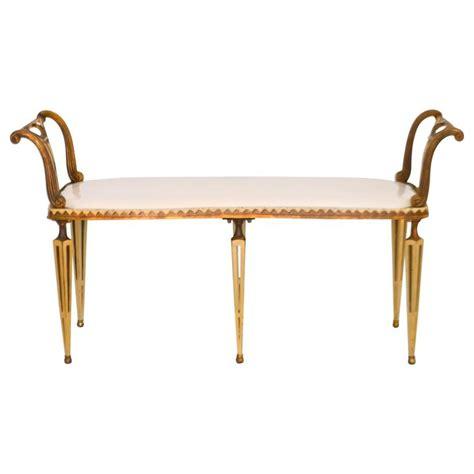 regency bench regency style parcel gilt bench for sale at 1stdibs