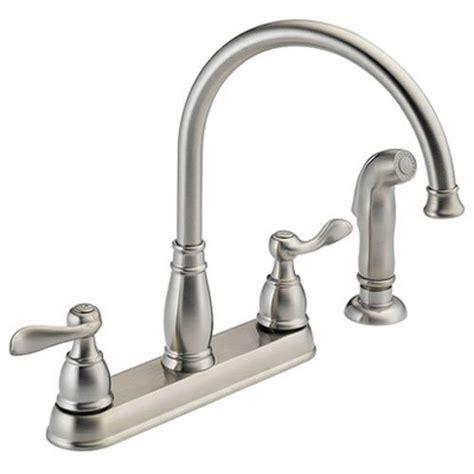 delta foundations 2 handle kitchen faucet chrome delta foundations 2 handle kitchen faucet chrome