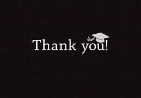 What To Write In Thank You Graduation Cards
