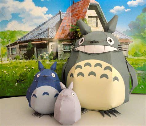 Totoro Papercraft - totoro papercrafts by studioofmm on deviantart