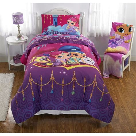Bed Sheet And Blanket Sets Shimmer And Shine Bedding New Comforter Bed Sheets Blanket Curtain Ebay