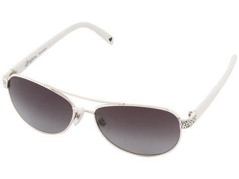 brighton sugar shack sunglasses white silver zappos